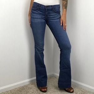 Thirteen Vintage Wide Leg Denim Jeans